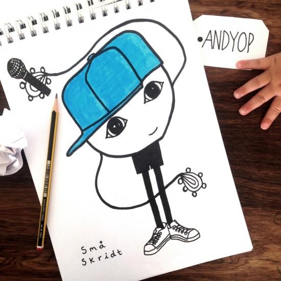 AndyOp - Små Skridt